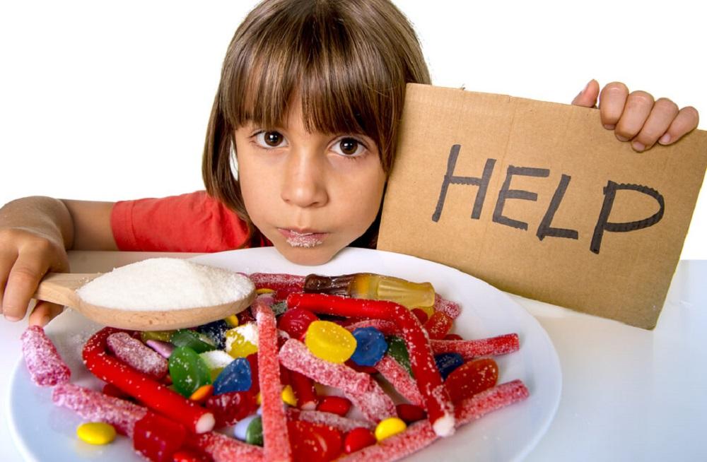 Сахар в рационе ребенка