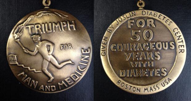 Медаль за диабет